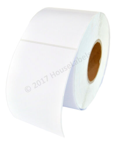 1 Roll 4 x 6 Direct Thermal Zebra FASSON Labels 3 inch Core 1000 Labels 4x6