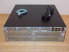 Cisco 3945-SEC/K9 ISR 2 Router + SL-39-DATA-K9 License 1x PWR