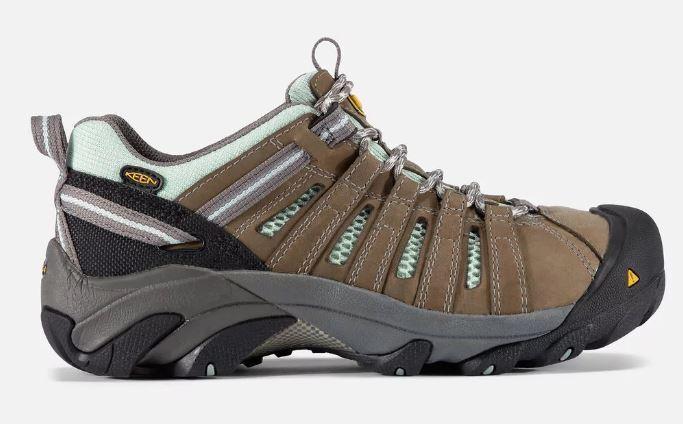Keen Women's Flint Low Steel Toe Electrical Hazard Work shoes 1008823