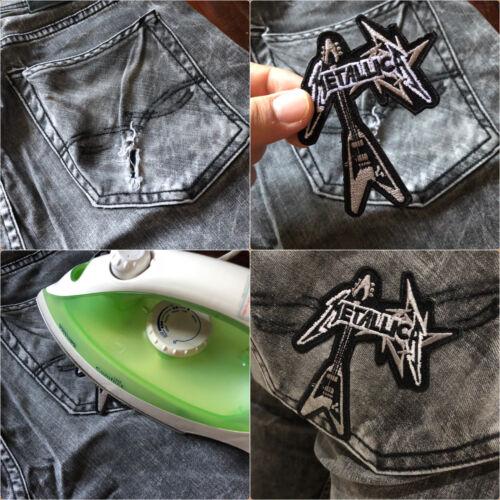 Pentagram Star Cat Pet Animal Symbole Satan Evil emblème CLOTHING Iron On Patch