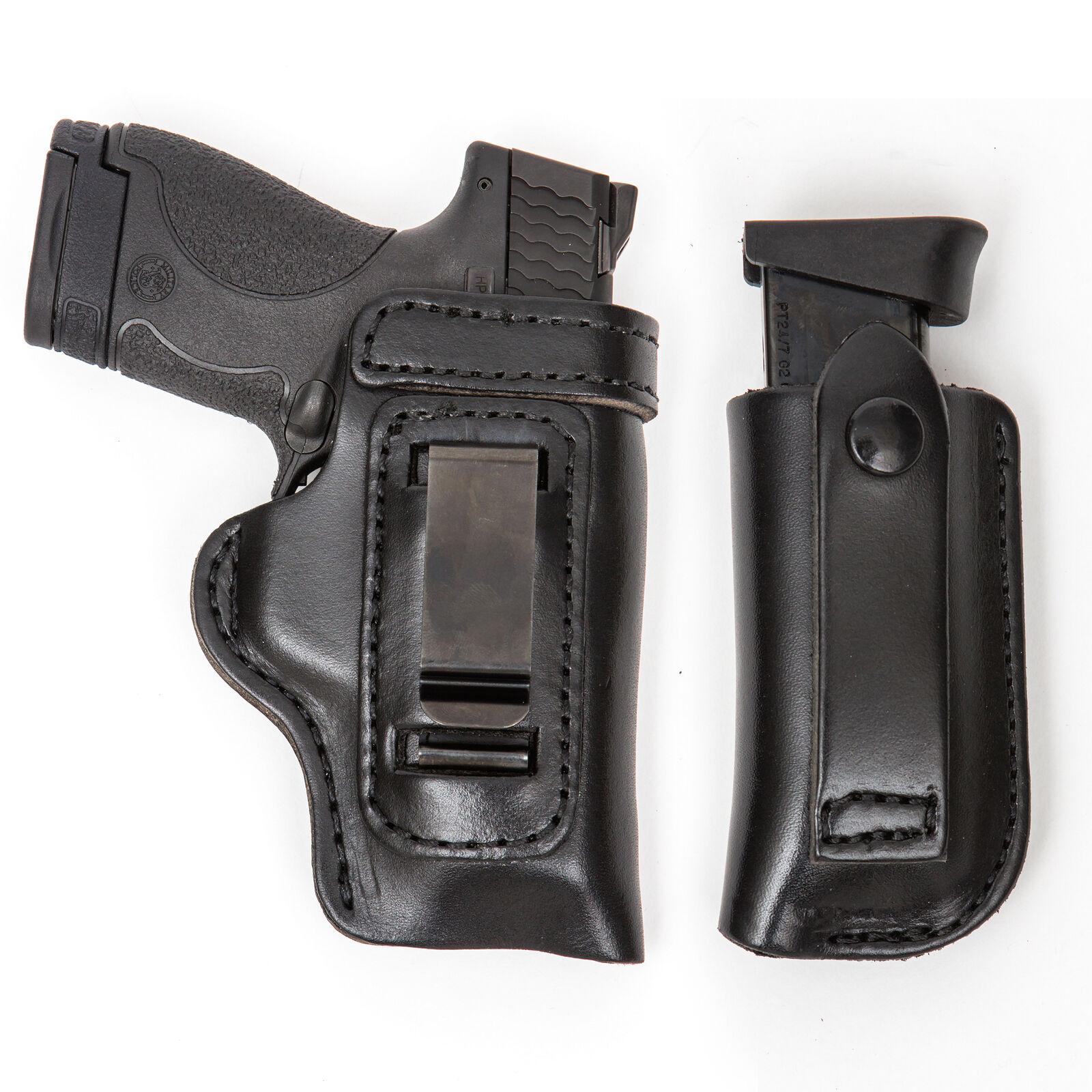 Combo Pack IWB owb RH LH Funda Pistola & Mag Para Taurus 809 840 Compacto