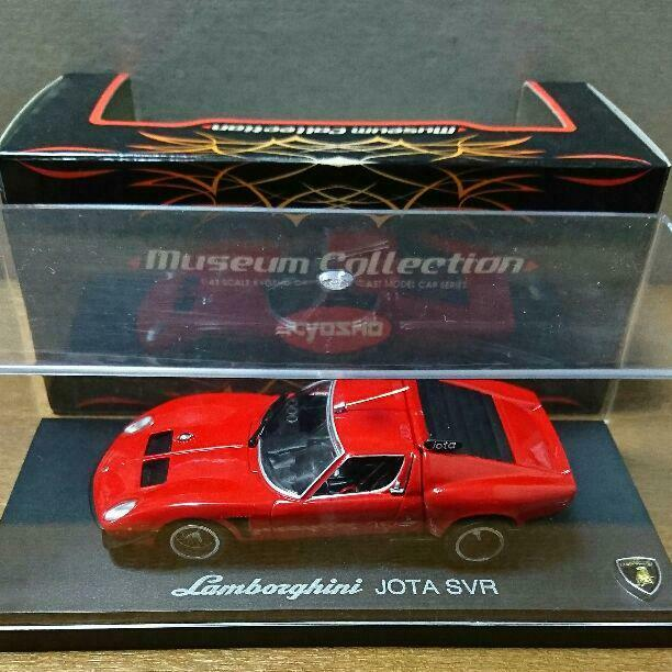 KYOSHO 1 43 Lamborghini JOTA SVR Museum Collection,2001,Elaborate,RARE,UNUSED
