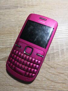 Nokia-C3-00-Rose-Chaud-Debloque-Smartphone