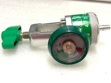 Precision Medical Oxygen Regulator Gauge Amp Clamp Model 168715d