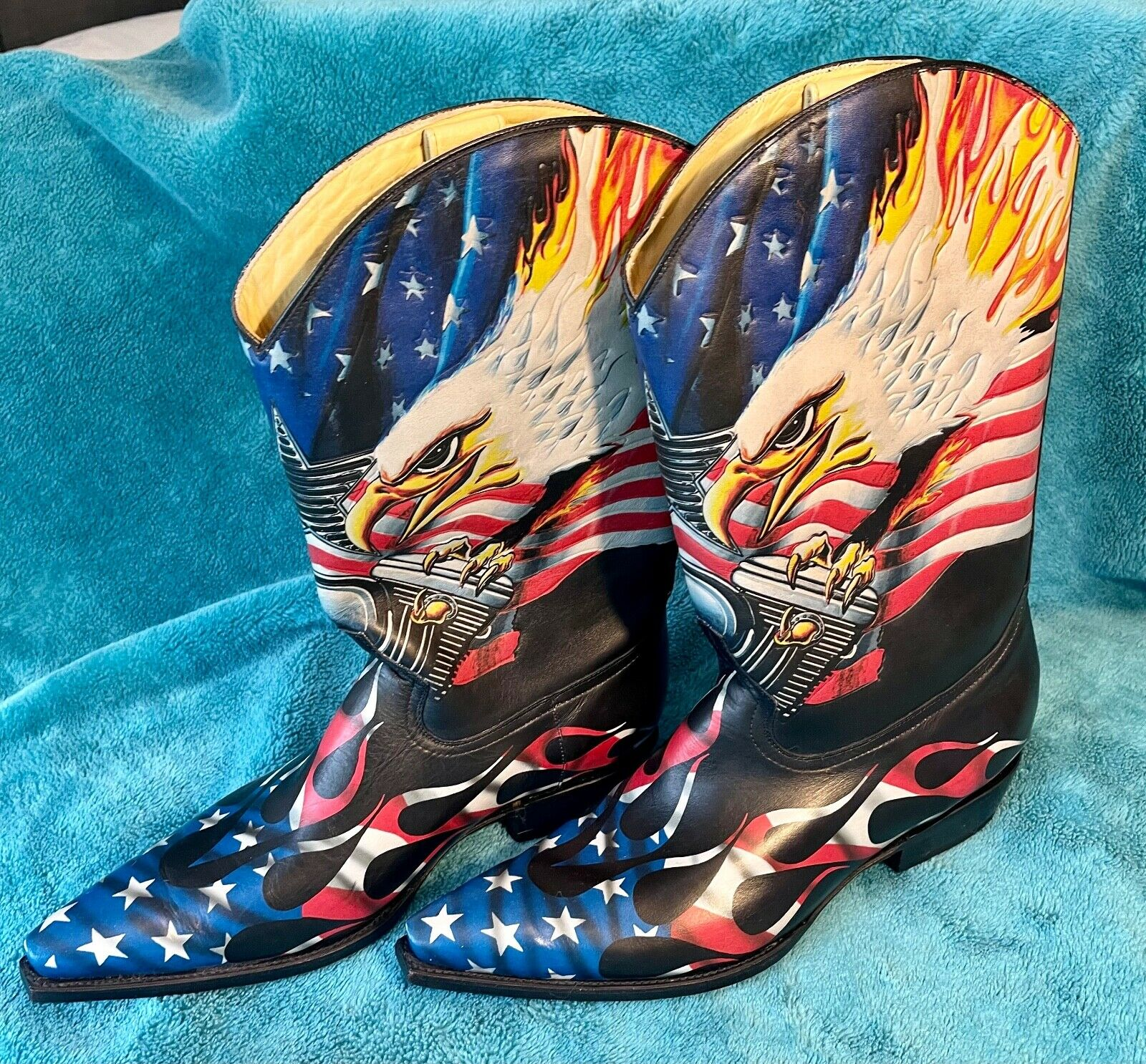 Mens New Cowboy Boots by Radical and Co