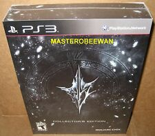 PS3 Lightning Returns Final Fantasy XIII Collector's Edition New Sealed + 4 DLC