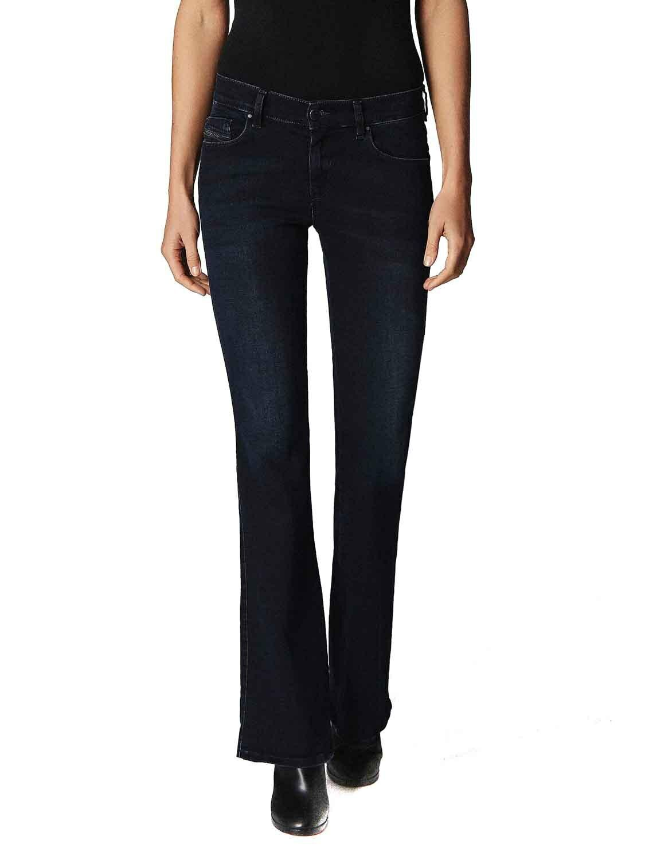 Diesel Sandy-B 0686B Damen Jeans Hose Slim Stiefelcut