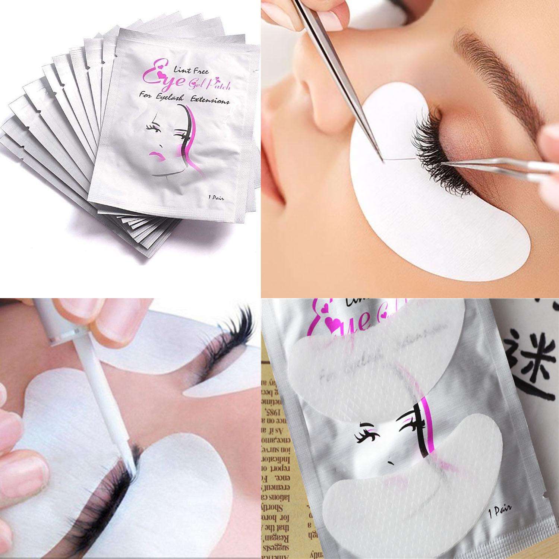 07324525f79 30 Pairs Eyelash Extensions Pads Under Eye Lash Gel Lint Free Eye Patches  Pad
