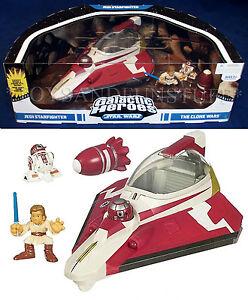 Star Wars Galactic Heroes Jedi Anakin Skywalker Clone Wars Starfighter  Bomb