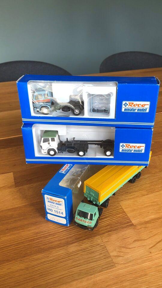 Modeltog, ROCO Lastbiler , skala Ho
