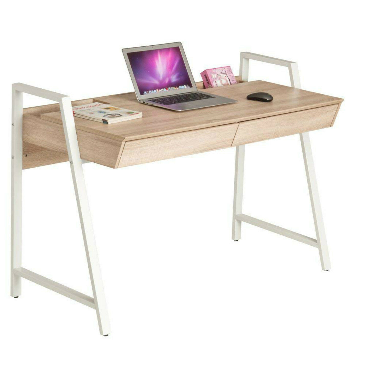 50 Computer Laptop Desk With Drawers Large Home Amp 0ffice