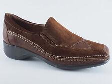 COMFORTABEL Damen Schuhe Slipper 37 Leder Braun Halbschuhe NEU