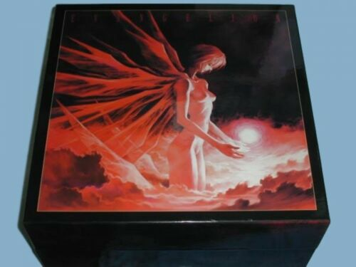 Laserdisc Neon Genesis Evangelion The Movie Limited Box KILA 9401~4 Japan Anime