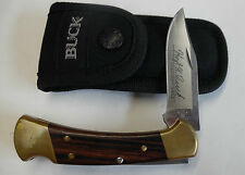 USA BUCK 112 LOCKBLADE HUNTING KNIFE W/ SHEATH CAMPING HIKING