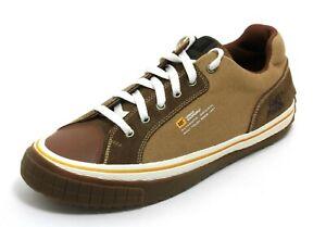 46 Chaussures à Lacets Basses Baskets pour Hommes Bottes en Cuir Caterpillar 45