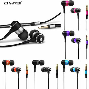 Awei Universal Stereo 3.5mm in-Ear Earphone Earbuds Headphone handfree Headset