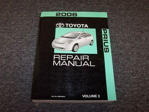 2006 toyota prius hatchback workshop shop service repair manual vol3 rh ebay com Pimped Out Prius Pimped Out Prius