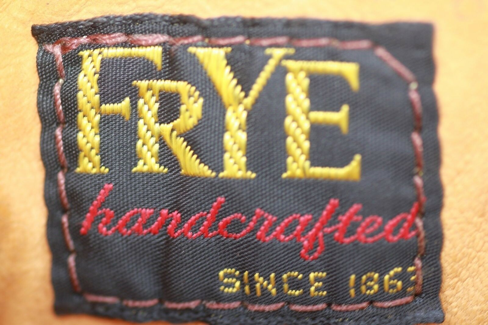 VTG 60's Black Tag Frye leather campus riding boots boots boots 7 B Awesome Vtg Patina 15f4ab