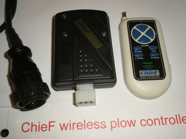 chief wireless plow controller for western mvp fisher v 10 pin rh ebay com