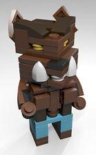 Constructibles® CubeVille Werewolf - Halloween LEGO® Parts & Instructions Kit