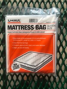 Uhaul Mattress Bag Queen 92 Quot X 60 Quot X 10 Quot New Unopened