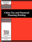 China Tax and Financial Planning Briefing by Worldtrade Executive (Paperback / softback, 2006)