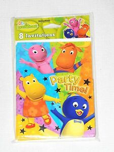 BLOWOUTS PARTY  SUPPLIES NEW THE BACKYARDIGANS 8