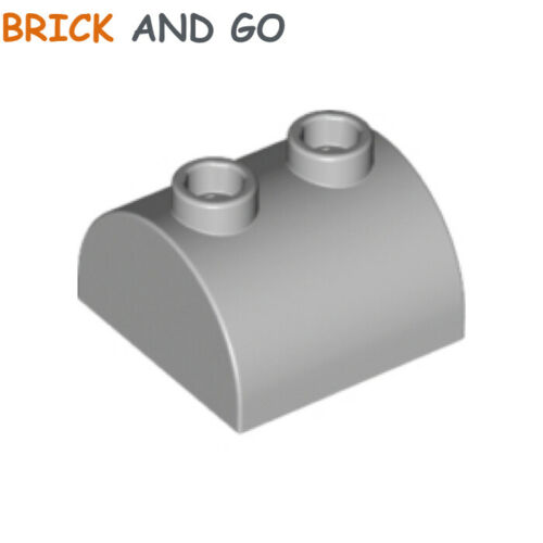 Brick 2x2 Curved Top NEUF NEW 1 x LEGO 30165 Brique Arrondie gris, grey