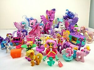 My Little Pony Lot Rarity Variants Brushable Vinyl Figures Easter Basket Fillers Ebay