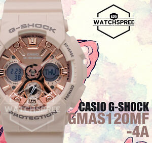Details about Casio G-Shock S Series new GMA-120 Watch GMAS120MF-4A  GMA-S120MF-4A