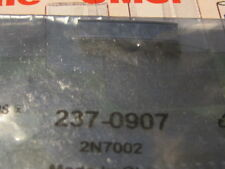 2N7002 MOSFET N-CHANNEL 60V 115mA   SOT23-3  5PCS