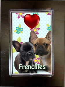 French-Bulldogs-Gift-Dog-Fridge-Magnet-77x51mm-Xmas-Birthday-Mothers-Day-Gift