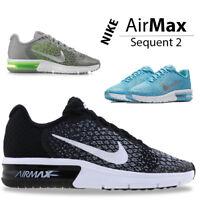 Nike Air Max Sequent Kids Trainers Boys Girls Kid Children Sports School Shoe