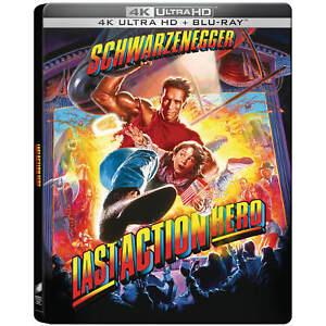 Last Action Hero 4K UK Steelbook UHD+Blu Exclusive Collector's Edition PRE Order