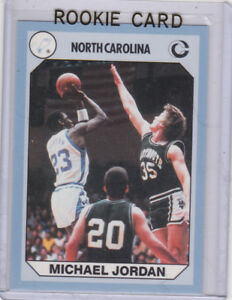 Details About Michael Jordan Rookie Card North Carolina Unc College Basketball Rc Chicago Bull