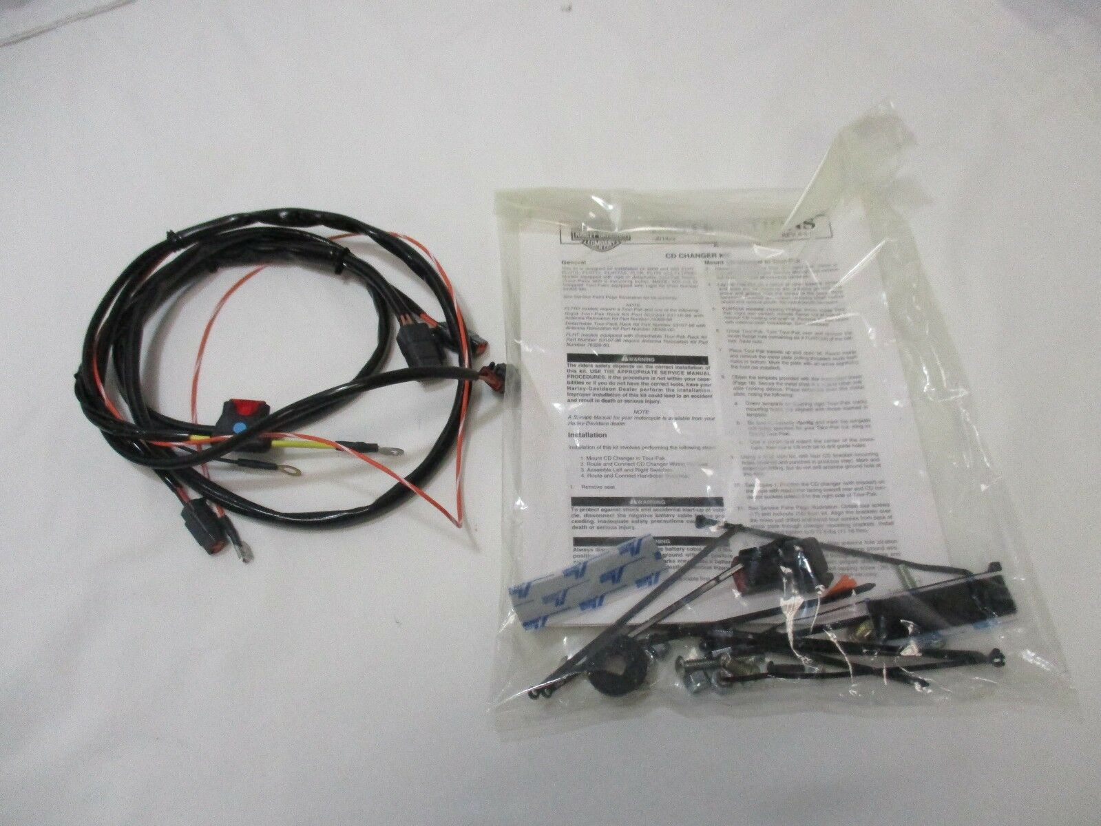 Harley Davidson 12 Cd Changer Kit 77184 01 Ebay Wiring Connectors
