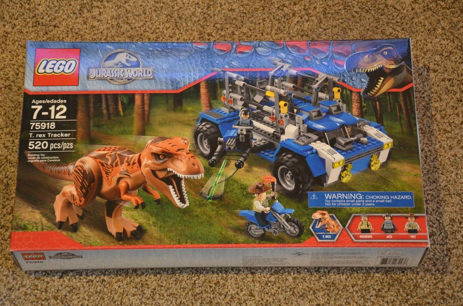 LEGO Jurassic World T. rex Tracker (75918) 520 pcs RETIrot