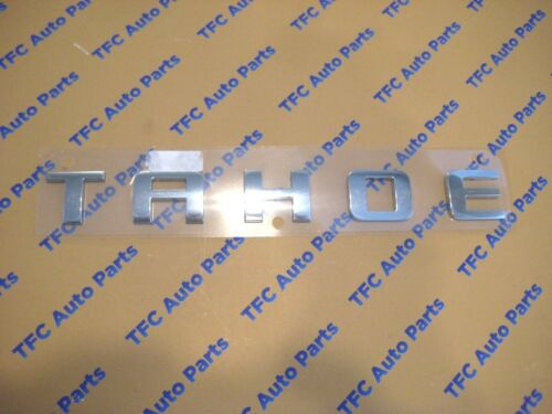 Chevy Tahoe Chrome Door or Tail Gate Emblem Crome Factory GM