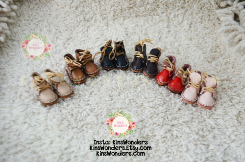 3.5 cm Blythe Lace-up Shoes for 30cm 1/6 Dolls, Pullip, BJD, Licca, Azone Jerry