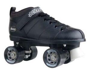 Black-Bullet-Men-039-s-Speed-Skate-by-CHICAGO-Skates