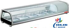 New 60 Sushi Bar Sashimi Seafood Cooler Case Refrigerator Commercial Su60 Nsf