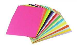 100-Sheets-A6-Coloured-Paper-Bright-Pastel-Colours-80gsm-Laser-Inkjet-Printers