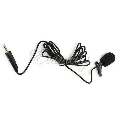3.5mm Active Clip Mic Microphone for Sports Camera GoPro  Hero 1 2 3 3+ Sj4000