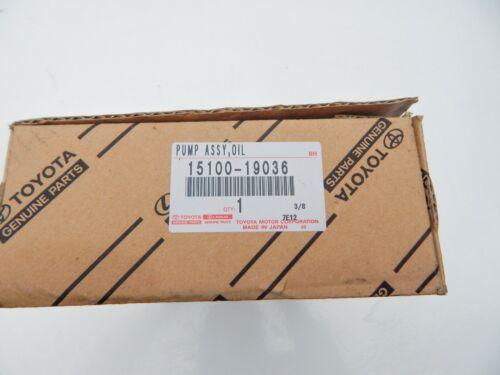 NEW GENUINE TOYOTA COROLLA GTS AE86 LEVIN 4AGE MR2 1.6L OIL PUMP 15100-19036