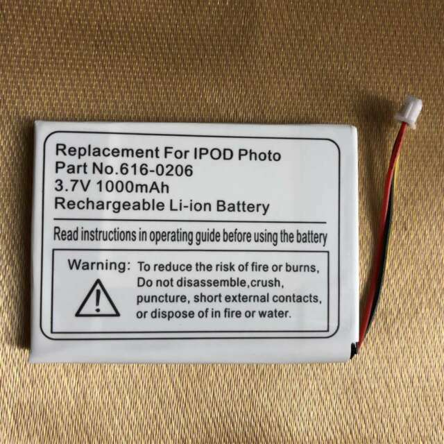 Replacement battery for ipod 4th gen 4 clickwheel photo A1059 M9282L//A 20 40GB