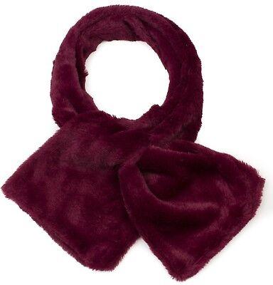 Tippet Scarf Girls Ladies Luxurious Soft Faux Fur Collar Wrap Neck Fur Wrap
