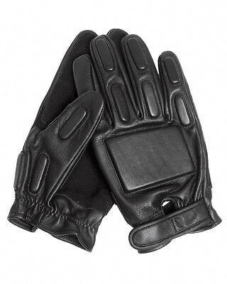 Mil-tec Security Handschuhe Leder Schwarz Lederhandschuhe Schutzhandschuhe S-xxl