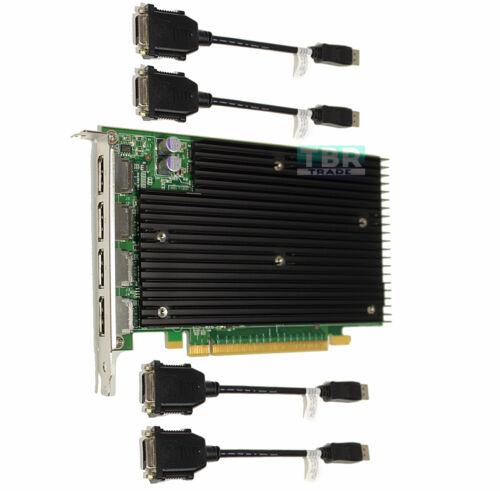 Dell Nvidia Quadro NVS 450 512mb PCI-e DisplayPort Video Graphics Card N217R