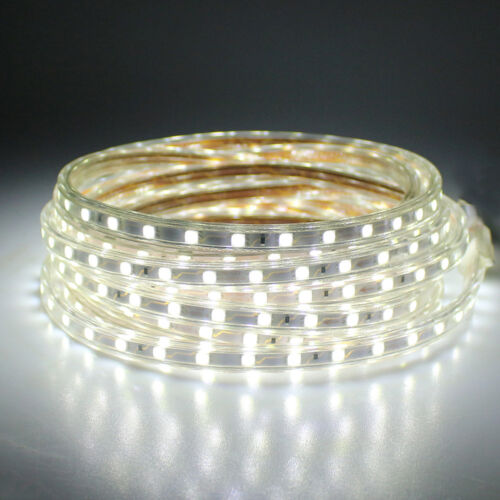 1M LED Strip Light 5050 220V 240V 60leds//m Flexible tape rope Waterproof SMD