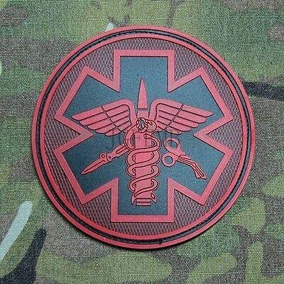 DEVGRU Medical Rescue Tactical Morale Military 3D PVC Velcro Patch